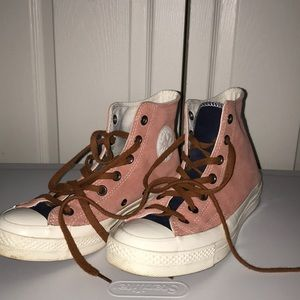 Custom suede converse shoes